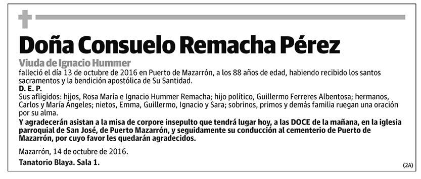 Consuelo Remacha Pérez