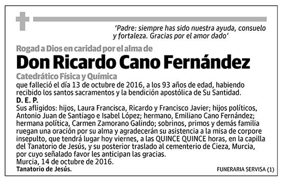 Ricardo Cano Fernández