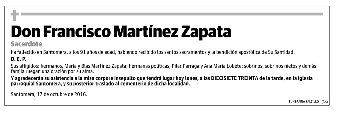 Francisco Martínez Zapata