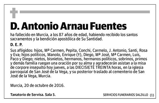 Antonio Arnau Fuentes
