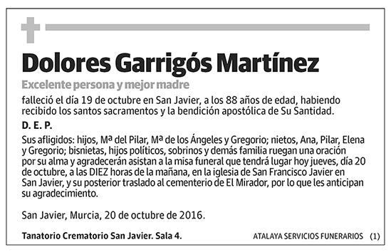 Dolores Garrigós Martínez