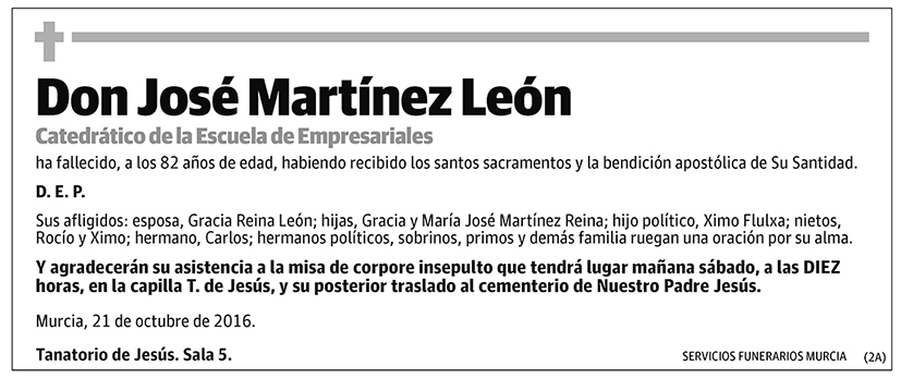 José Martínez León