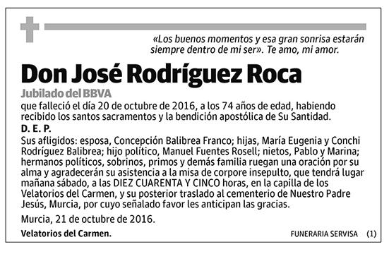 José Rodríguez Roca
