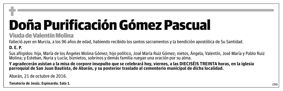Purificación Gómez Pascual