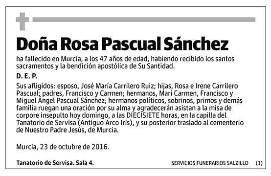 Rosa Pascual Sánchez