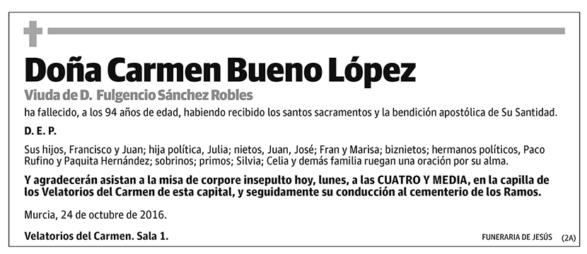 Carmen Bueno López