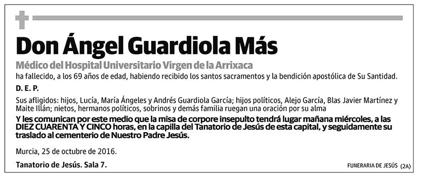 Ángel Guardiola Más