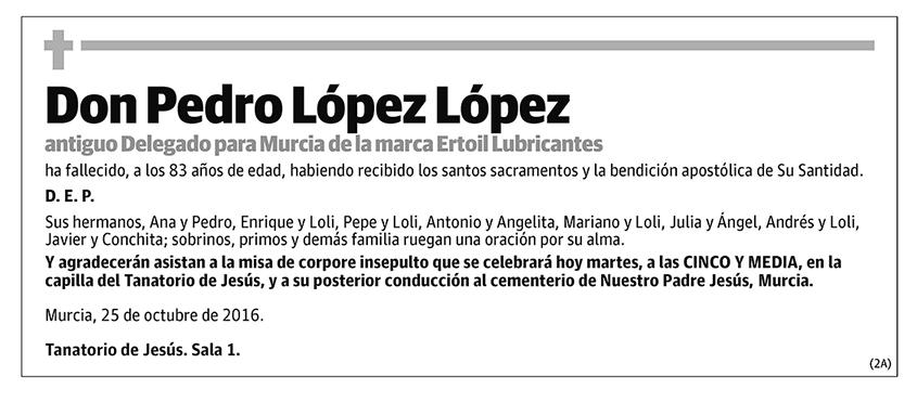 Pedro López López