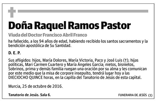 Raquel Ramos Pastor