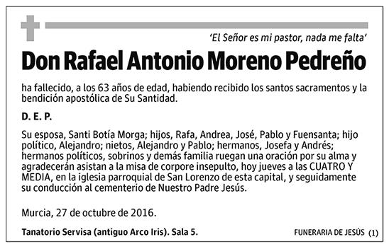 Rafael Antonio Moreno Pedreño
