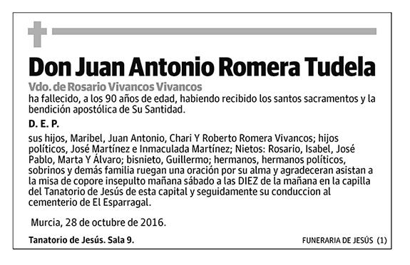 Juan Antonio Romera Tudela