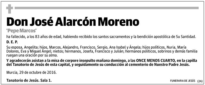 José Alarcón Moreno