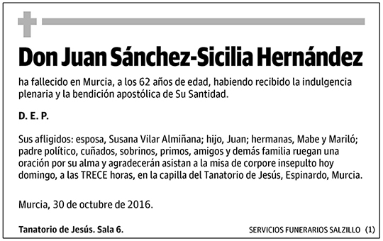 Juan Sánchez-Sicilia Hernández
