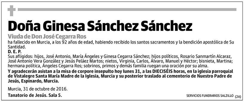 Ginesa Sánchez Sánchez