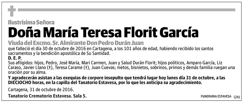 María Teresa Florit García
