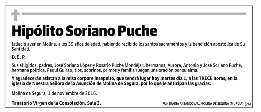 Hipólito Soriano Puche