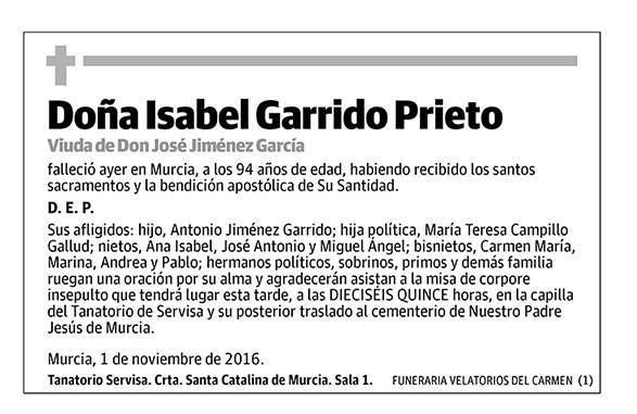 Isabel Garrido Prieto