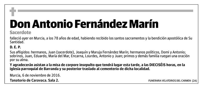 Antonio Fernández Marín