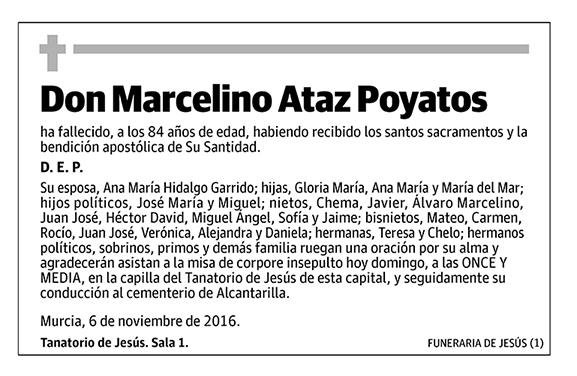 Marcelino Ataz Poyatos
