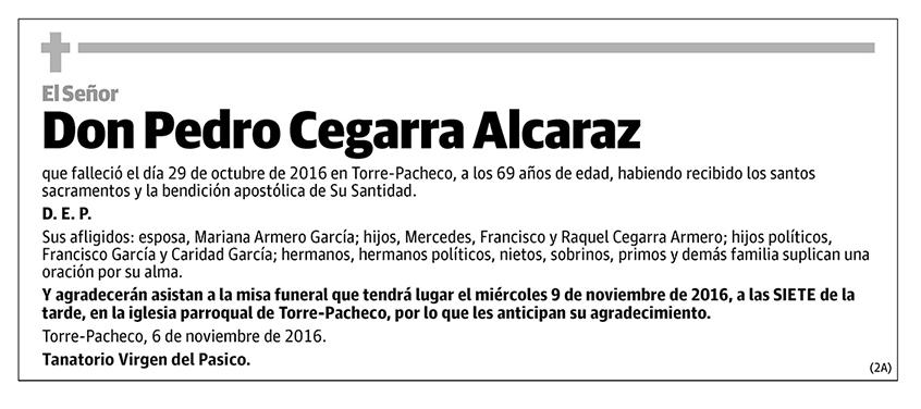 Pedro Cegarra Alcaraz