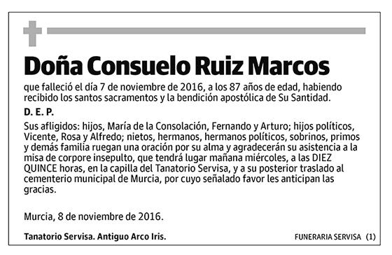Consuelo Ruiz Marcos