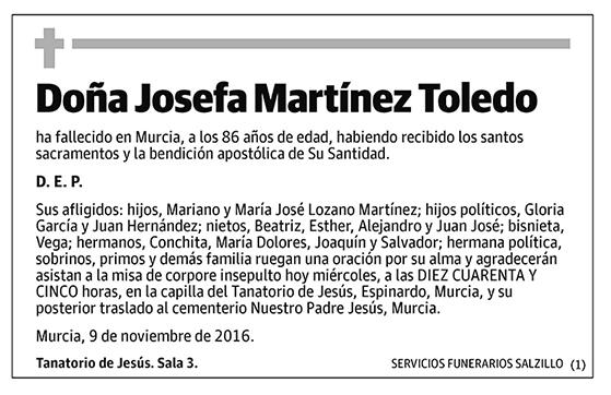 Josefa Martínez Toledo