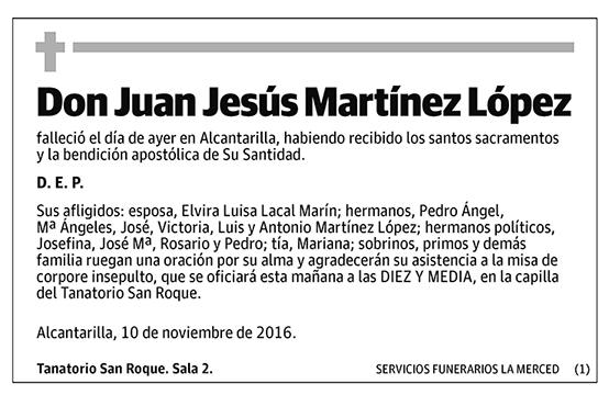 Juan Jesús Martínez López