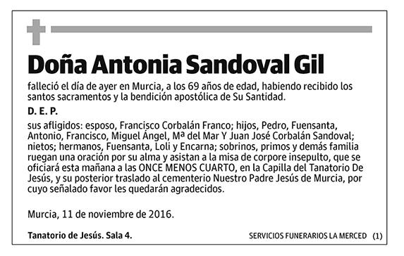 Antonia Sandoval Gil