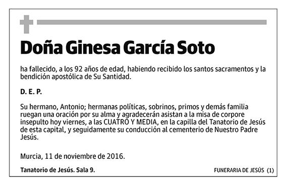 Ginesa García Soto