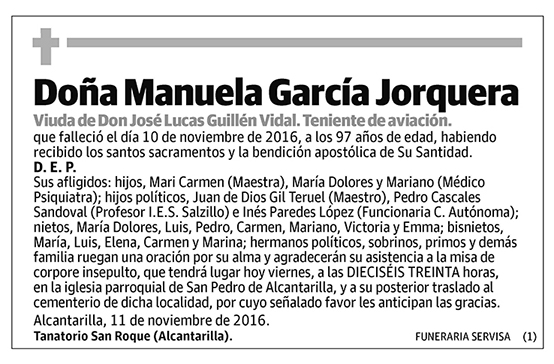 Manuela García Jorquera