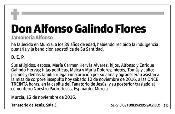 Alfonso Galindo Flores