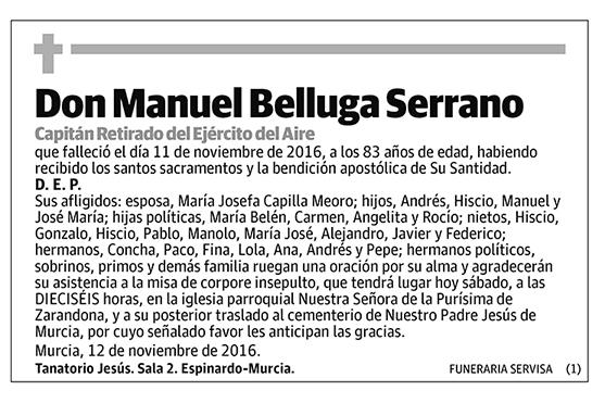 Manuel Belluga Serrano