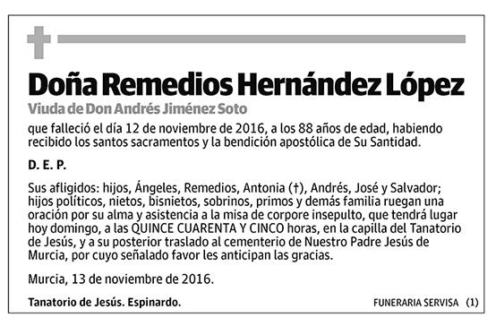 Remedios Hernández López