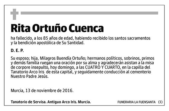 Rita Ortuño Cuenca