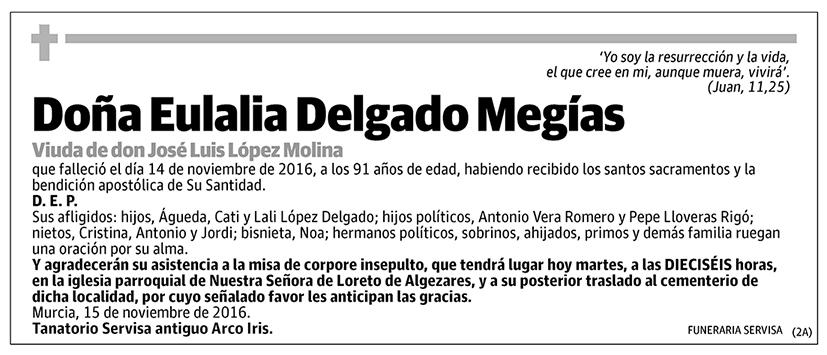 Eulalia Delgado Megías