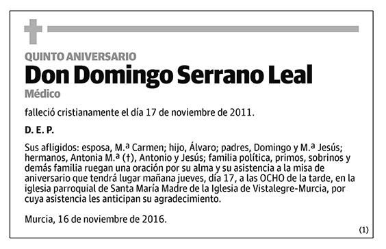 Domingo Serrano Leal