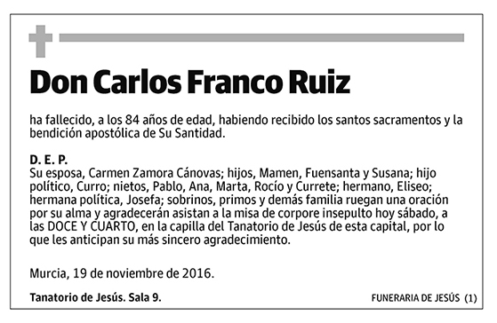 Carlos Franco Ruiz