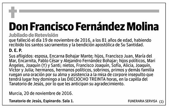 Francisco Fernández Molina
