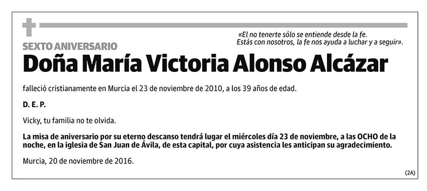 María Victoria Alonso Alcázar