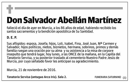 Salvador Abellán Martínez