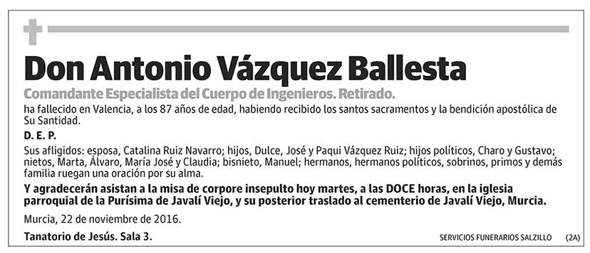 Antonio Vázquez Ballesta