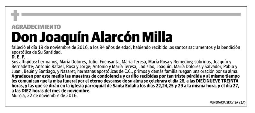 Joaquín Alarcón Milla