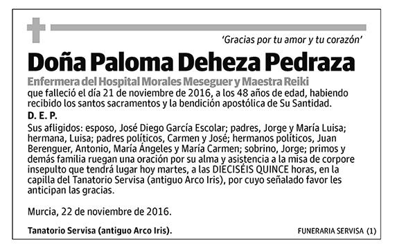 Paloma Deheza Pedraza
