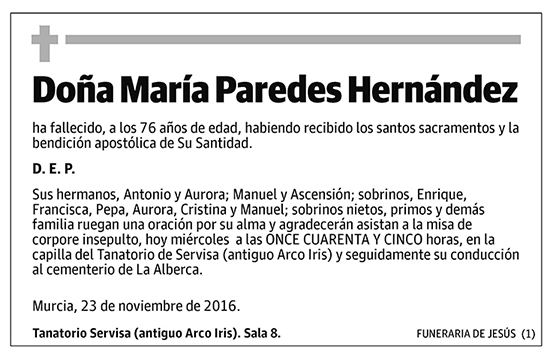 María Paredes Hernández