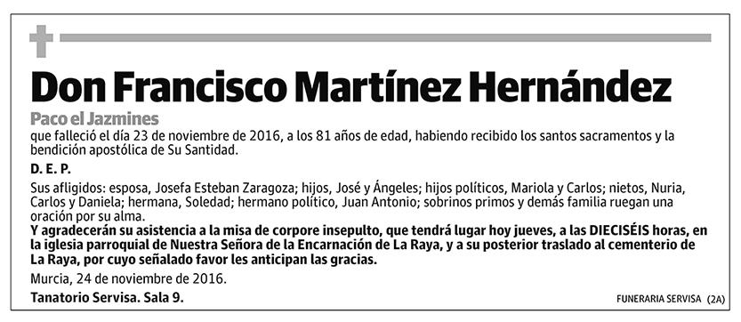 Francisco Martínez Hernández