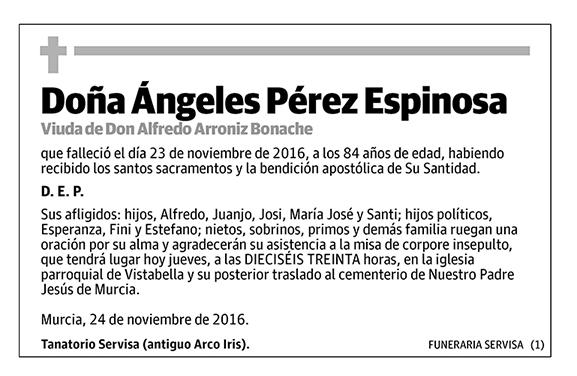 Ángeles Pérez Espinosa