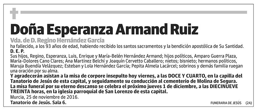 Esperanza Armand Ruiz