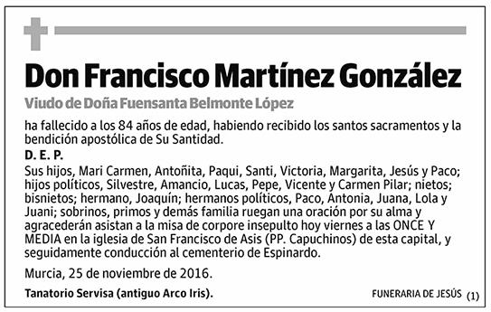 Francisco Martínez González