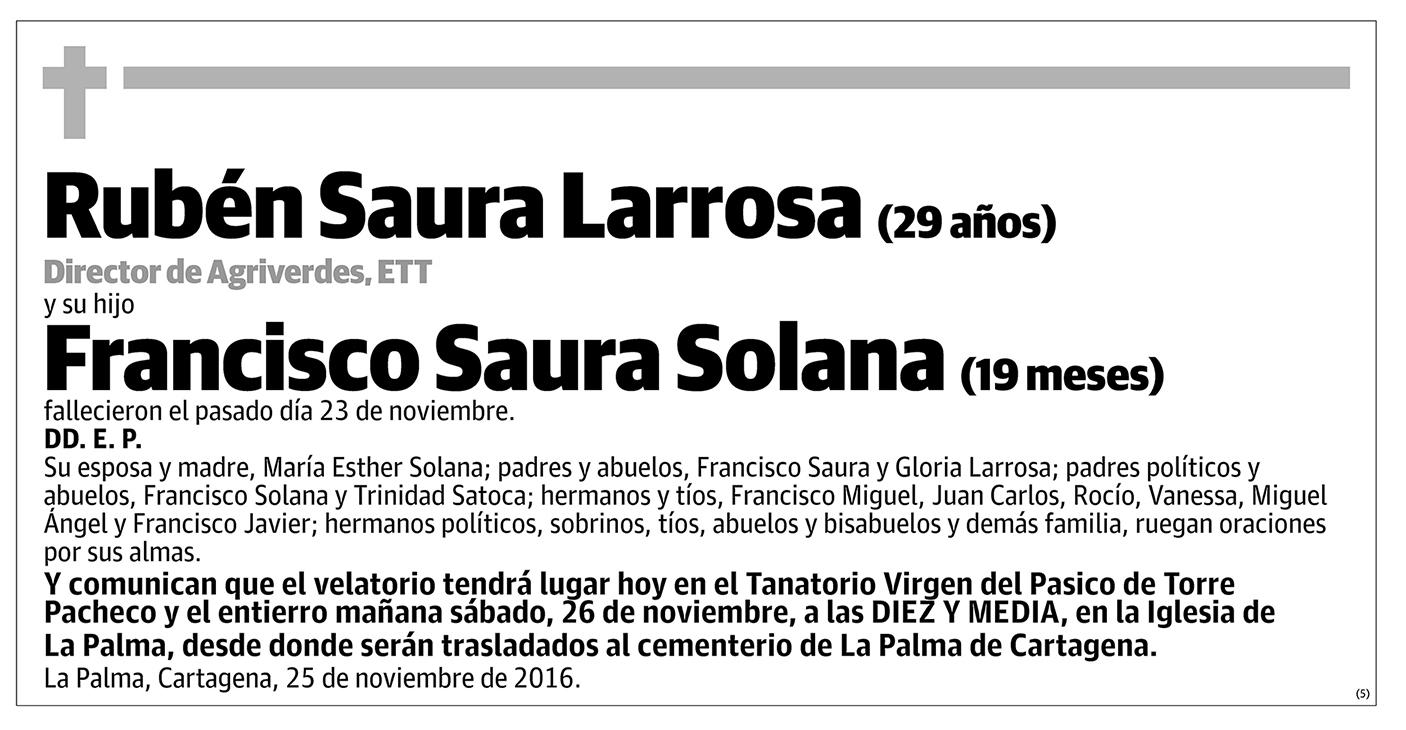 Rubén Saura Larrosa