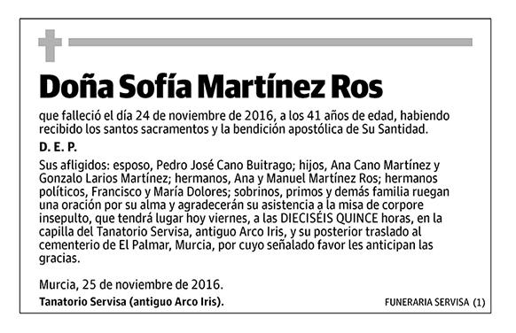 Sofía Martínez Ros